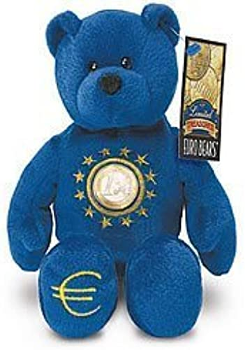 1 X One Euro Coin Bear by Limited Treasures