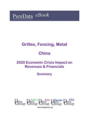 Grilles, Fencing, Metal China Summary: 2020 Economic Crisis Impact on Revenues & Financials (English Edition)