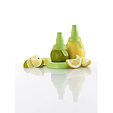 Citrus Sprayer Spray Fruit Mist for Extractor Set Lemon Lime Kitchen Tool (Green)