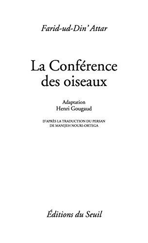 Conférence des oiseaux (La) (PTS SAGESSES t. 260) (French Edition)