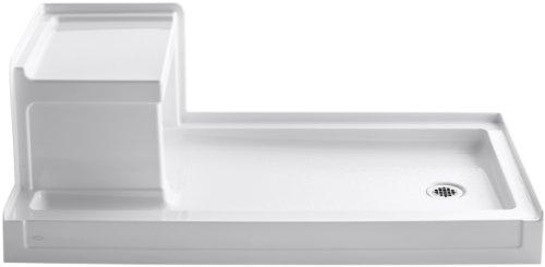Product Image of the Kohler K-1976-0 Tresham Shower Receptor, White