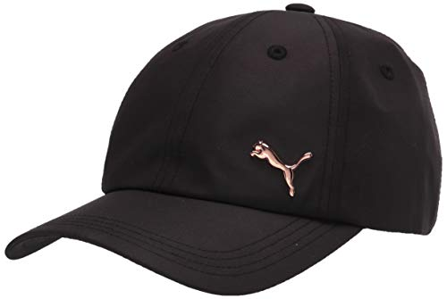 PUMA Damen Opal Adjustable Kappe, schwarz, Einheitsgröße