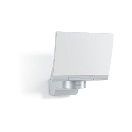 Steinel LED-Strahler XLED Home 2 XL Slave silber, vernetzbarer Fluter, 20 W, LED Wandleuchte außen, Innenhof & Zufahrt