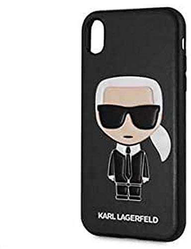 Karl Lagerfeld Iconic Karl Embossed Case for iPhone XR (Black)