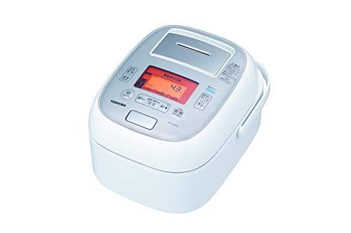 東芝真空圧力IHジャー炊飯器(5.5合炊き)グランホワイトTOSHIBA圧力+真空合わせ炊きRC-10VXM-W