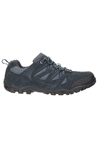 Mountain Warehouse Outdoor Mens Walking Shoes – Suede Mesh Upper Footwear, Cushioned EVA Footbed, Rubber Outsole – for…