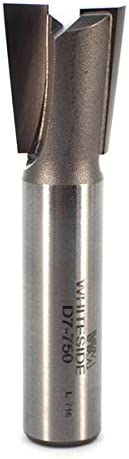 lowest Whiteside Router Bits lowest D7-750 Dovetail 2021 Bit with 3/4-Inch Large Diameter, 7/8-Inch Cutting Diameter and 1/2-Inch Shank online sale