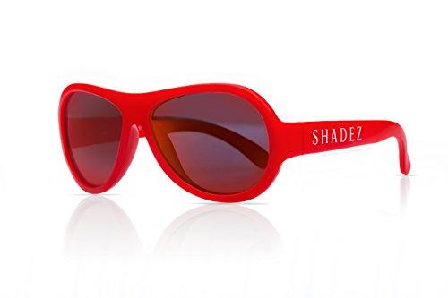 Shadez Lunettes de Soleil Rouge Baby 0-3 Ans