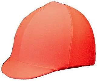 Equestrian Riding Helmet Cover - Hunter Orange