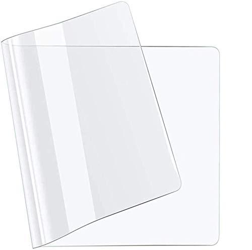 Estera De ProteccióN Para El Suelo Mantel Transparente Rectangular 0.5mm Grueso Mantel De Plástico Transparente, Impermeable Protector De Mesa Rectángulo Cubierta De Mesa PVC(70x110cm/27.56x43.31in)