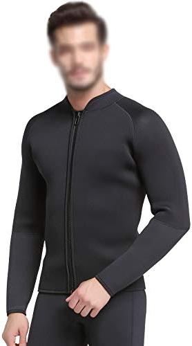Xlq 5Mm épais Costume de plongée, Costume de Surf Hiver Natation équipeHommest de plongée en apnée divisé vêteHommests imperméables de mère,L