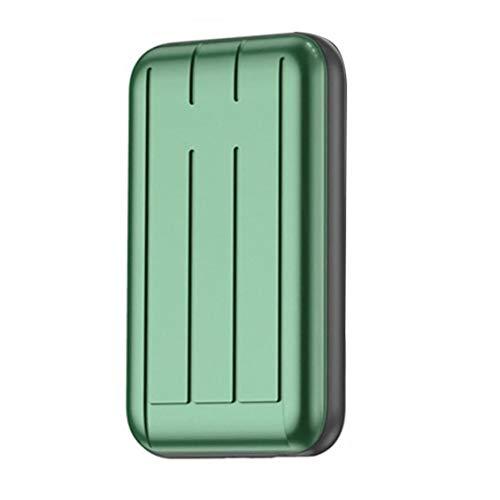 YepYes Banco de Potencia, Wireless Mini portátil Cargador, el Powerbank 5000mAh batería Cargador rápido Power Bank