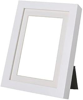 comprar comparacion Marco RIBBA, blanco, tamaño 21 x 30 cm, para A4 tamaño Visario si sin el soporte usado. El soporte favorecen la imagen y e...