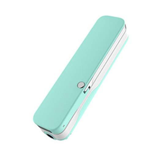 Emma Adamson Pocket Size Design Leggero Palmare allungabile Selfie Stick Compact Pieghevole Selfie Stick Monopiede per Smartphone - Verde