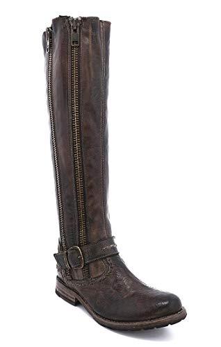 Bed|Stu Women's Tango S Leather Boot (6.5 M US, Tiesta Di Moro Dip Dye)