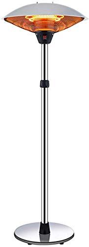 H.yina Estufa de calefacción Caliente Vertical para sombrilla eléctrica Grande, radiador Ajustable...