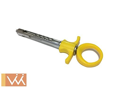 Dental Aspirating Syringe, Lightweight Construction. Injection of Local anesthetic Solution.