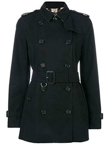 Luxury Fashion | Burberry Dames 3900548 Zwart Katoen Trenchcoats | Seizoen Outlet