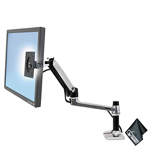Ergotron 45-241-026 LX Desk Mount LCD Arm + Essential Accessories