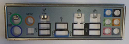 MSI P55-GD65 MS-7583 Ver.1.0 Blende - Slotblech - IO Shield