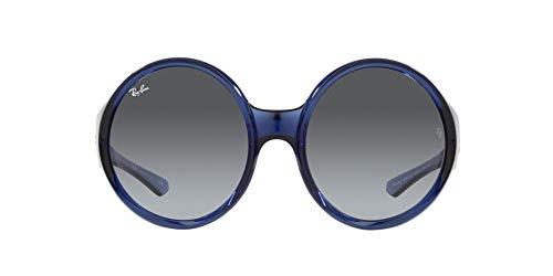 Ray-Ban 0RB4345 Gafas, TRANSPARENT BLUE, 58 Unisex Adulto