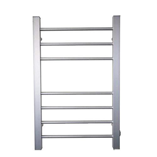 LIABC Portasalviette Elettrico, Portasciugamani in Alluminio A Temperatura Costante Portasciugamani A Parete 800x520x100mm