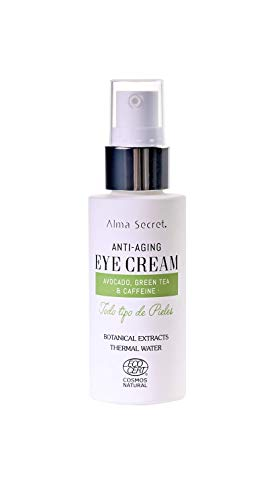 Alma Secret Augencreme, Anti-Aging, mit Avocado, grünem Tee & Koffein, 30 ml