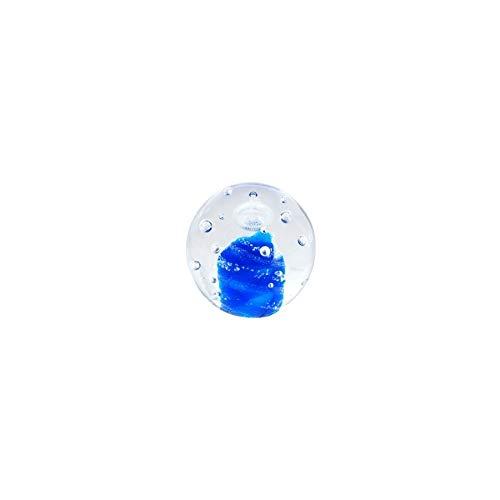 Art Deco Home - Presse-Papier Bleu Cristal 7 cm - 14295SG