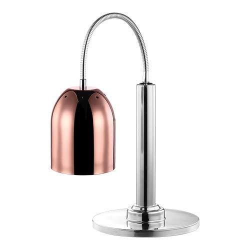 Design Kupfer Buffet-Wärmelampe Tischmodell einzeln, 250 watt 300x150 mm, Höhe 700 mm