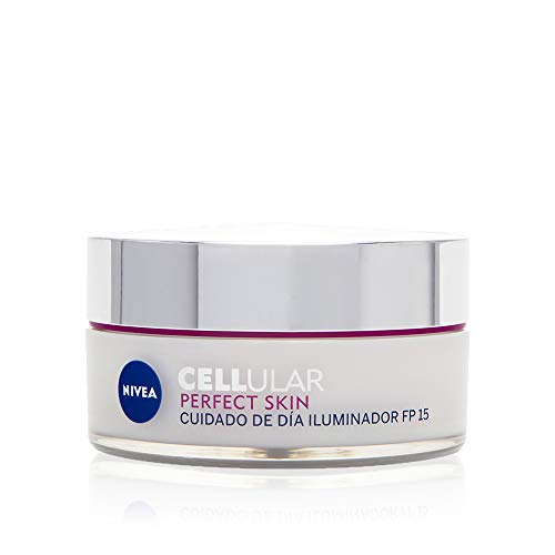 NIVEA Cellular Perfect Skin Cuidado de Día FP15 (1 x 50 ml), crema...