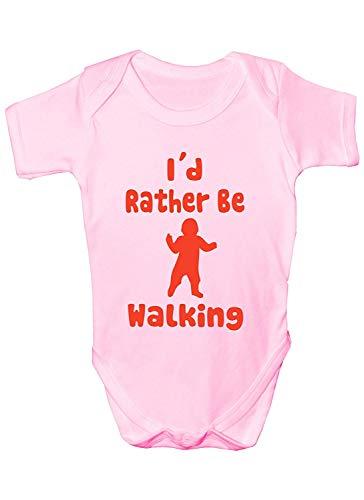 Mesllings Baby-Strampler mit Aufschrift