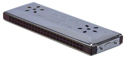 Gewa 798520 Mundharmonika Walther Doppeltremolo C/G-Dur 96 Stimmen