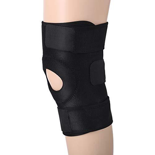 Kniebandage, Knee Support Verstellbare Knieschoner Patella Stabilisator Knie Schmerzlinderung Patella Stabilisierung Dual Compression Knie Ärmel mit Klettverschluss für Volleyball Laufen Meniskus