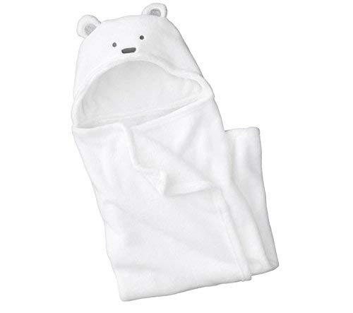 Lsv-8 Peignoir de bain à capuche pour bébé, à motif nounour ourson