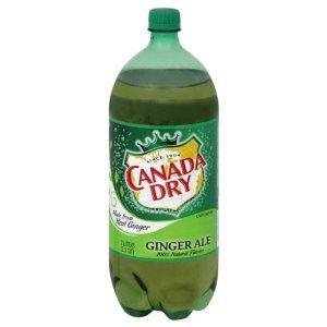 CANADA DRY SODA GINGER ALE 2 LTR BOTTLE