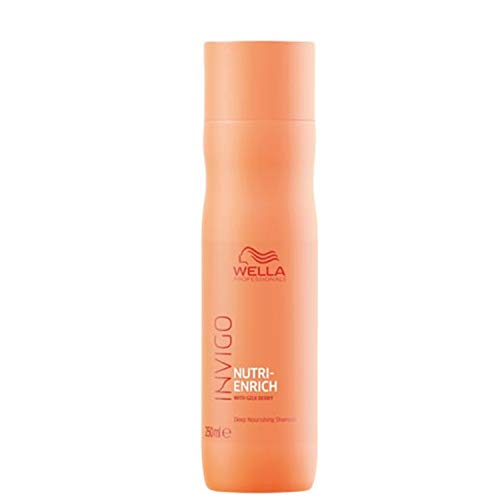 Wella Professionals Invigo Nutri-Enrich Deep Nourishing Shampoo, 250 ml