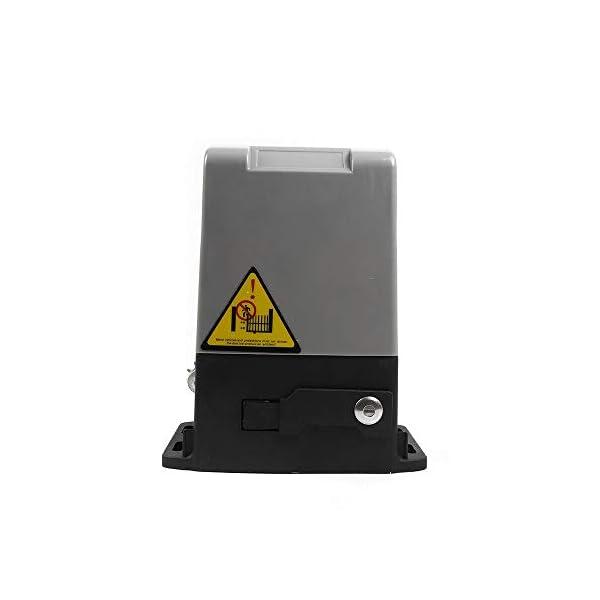 Accionamiento-para-puertas-correderas-600-kg-con-2-mandos-a-distancia-cadena