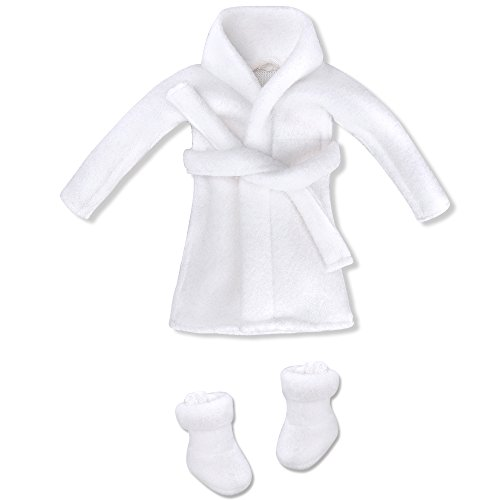 E-TING Santa Couture Kleidung für Puppen (Puppe Nicht Enthalten) (Bademantel)