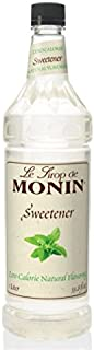 Monin Natural Flavoring Sweetener - Zero Calories, Zero Sugar, No Artificial Ingredients | 33.8 oz