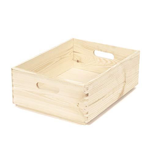 Compactor Caja Madera Pino Natural Instrucciones Hacer