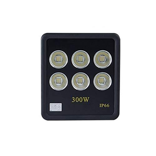 FINDYU Focos LED Exterior A Prueba De Lluvia IP66 Wall Washer Light Brillo Alto Jardín Al Aire Libre Robusto Lámpara De Seguridad Floodlight (Color : Luz Blanca, tamaño : 300W)