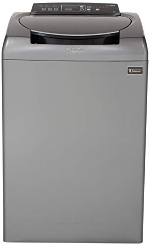 Whirlpool 8 Kg Fully-Automatic Top Loading Washing Machine with In-Built Heater (STAINWASH ULTRA 8.0, Graphite, 3D Scrub Technology)