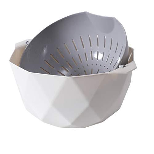 Rysmliuhan Shop Colino Bacinella Pieghevole Campeggio Sink Cestello Setaccio Riso Filtro da Cucina Piccolo Colino Gray,Medium