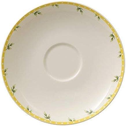 Preisvergleich für Villeroy & Boch Spring Awakening Untertasse, 14 cm, Premium Porzellan, Gelb/Bunt