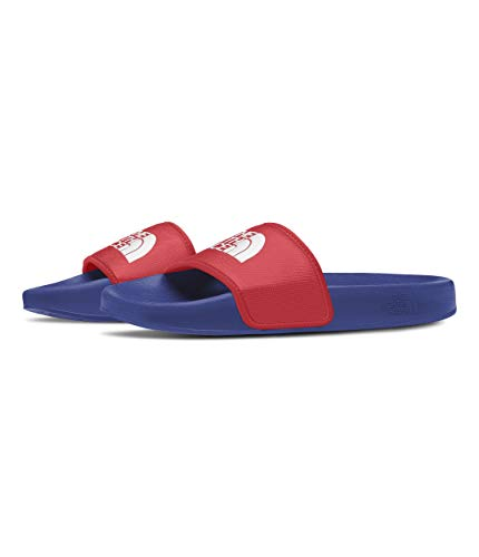 The North Face Men's Base Camp Slide III, TNF Blue/Horizon Red, 7