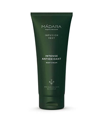 MÁDARA Organic Skincare   Infusion Vert Crème Corps Antioxydante Intense - 200 ml