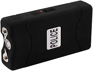 POLICE Stun Gun 800-30 Billion Mini Rechargeable with LED Flashlight, Black