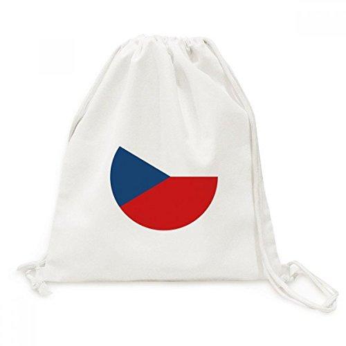 DIYthinker Símbolo Viajes República Checa Nacional Europea Lona de la Bandera del morral del Lazo Bolsas de la Compra