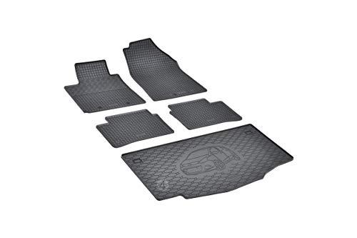 Passende Gummimatten und Kofferraumwanne Set geeignet für Hyundai i10 ab 2014 EIN Satz