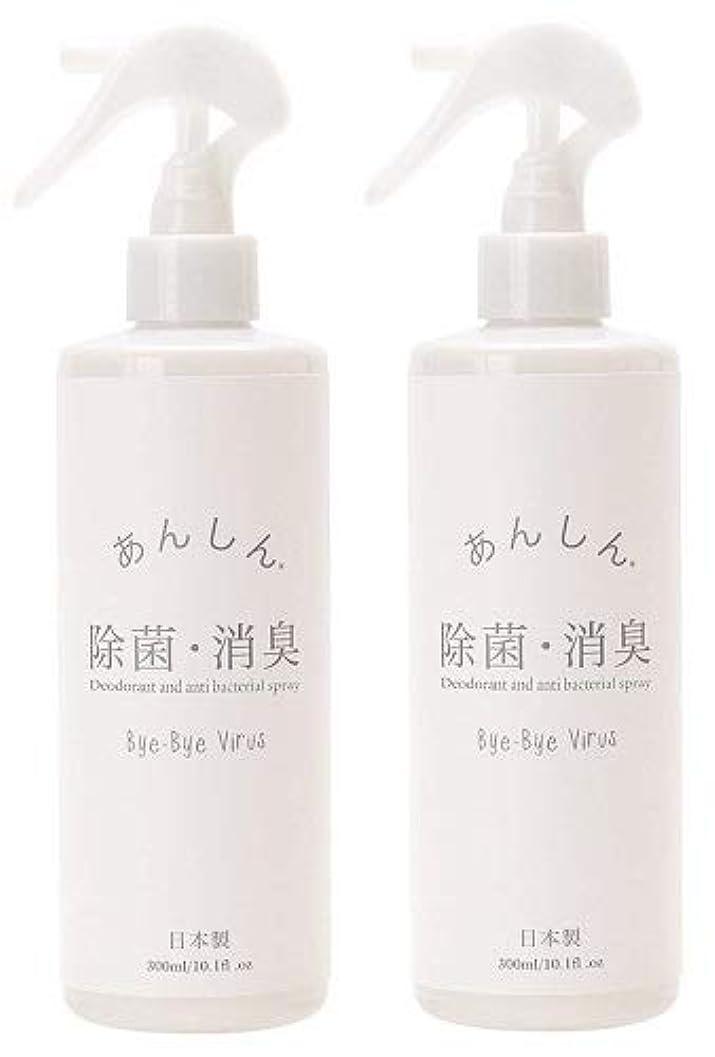 起こる北西裸【2個セット】ノルコーポレーション 除菌スプレー バイバイウィルス 消臭 無香料 300ml OZ-HAJ-8-1 【2個セット】
